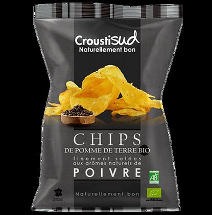 CROUSTIDUD - Chips Poivre 100g
