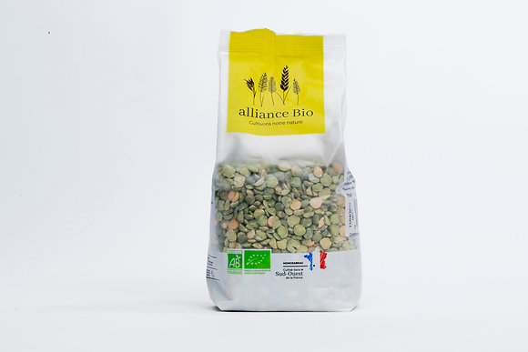 ALLIANCE BIO - Pois Cassés 500g
