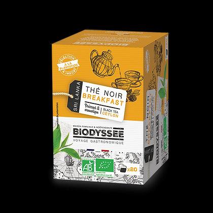 BIODYSSÉE - Thé Noir Breakfast x20 infusettes