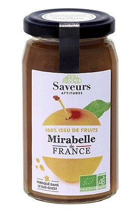 SAVEURS ATTITUDES - 100% Mirabelle 240g