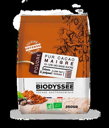 BIODYSSÉE - Cacao Maigre 250g
