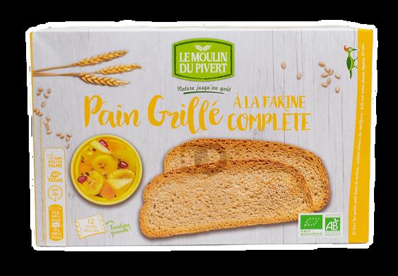 MOULIN DU PIVERT - Pain grillé à la Farine Complète 250g