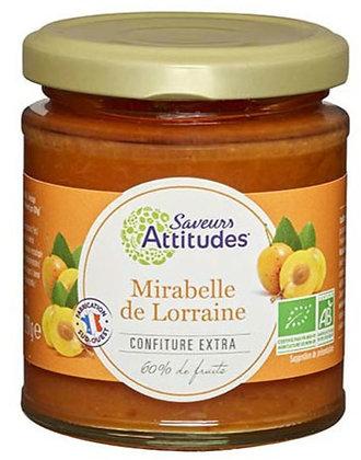 SAVEURS ATTITUDES - Confiture Mirabelle de Lorraine 220g