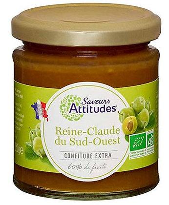 SAVEURS ATTITUDES - Confiture Reine Claude 220g