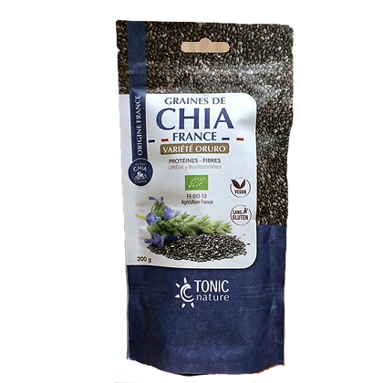 TONIC NATURE - Graines de Chia 200g