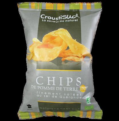 CROUSTIDUD - Chips Sel de Guérande 100g