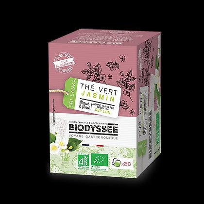 BIODYSSÉE - Thé Vert Jasmin x20 infusettes