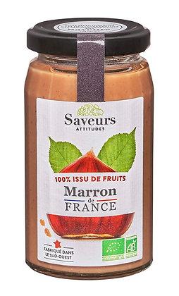 SAVEURS ATTITUDES - 100% Marron 240g