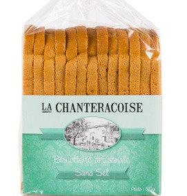 LA CHANTERACOISE - Biscottes Sans Sel 280g