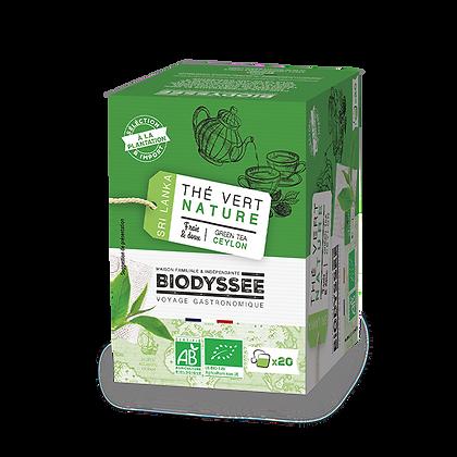 BIODYSSÉE - Thé Vert Nature x20 infusettes