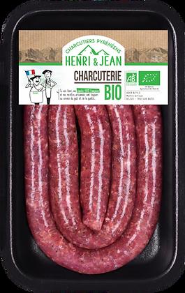 HENRI & JEAN - Saucisse Chipolata 400G