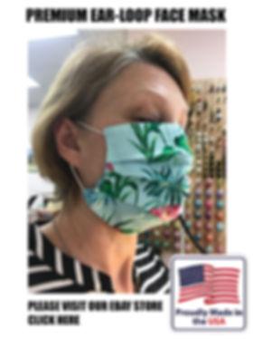 Face Mask Colorado Made in USA