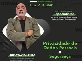 ALIX LGPD 360° | Privacidade de Dados Pessoais X Segurança