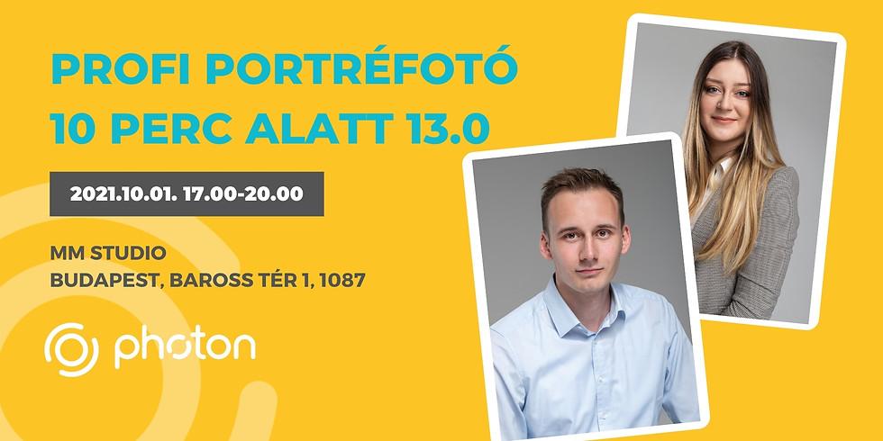 Profi Portréfotó 10 perc alatt! 13.0