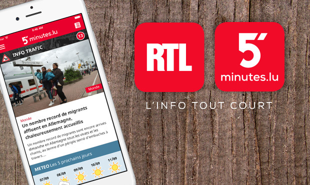 rtl luxembourg 5 minutes