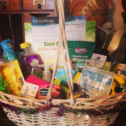 One of our gift baskets