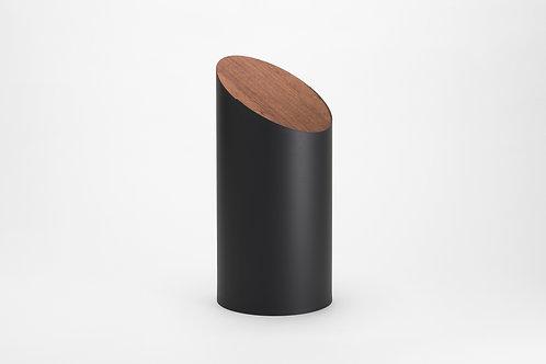 Moheim Swing Bin (Black & Walnut)