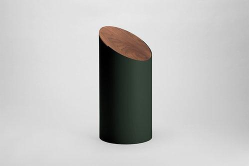 Moheim Swing Bin (Green & Walnut)