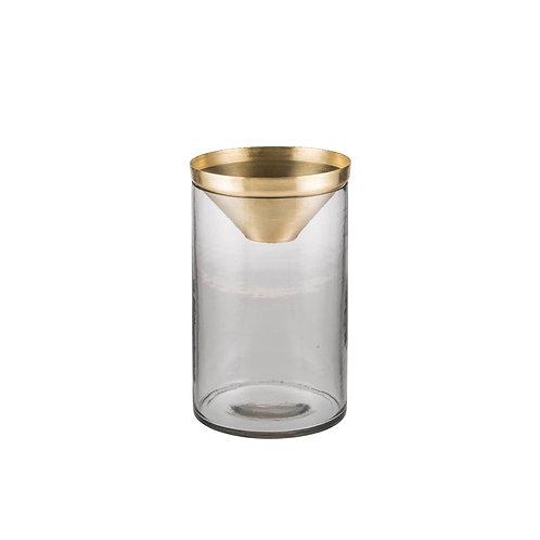 Zakkia - Botanical Vase (Brass)