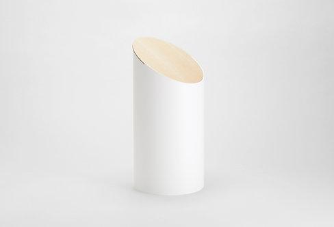 Moheim Swing Bin (White & Hardmaple)