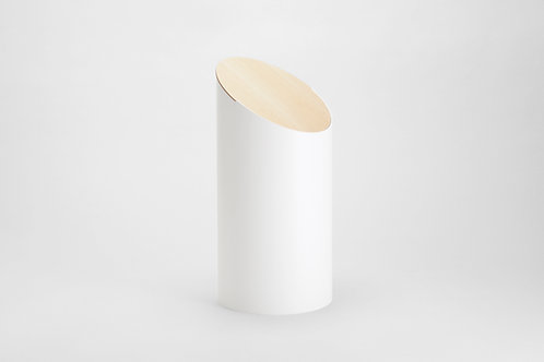 Moheim Swing Bin (White & Hardmaple)