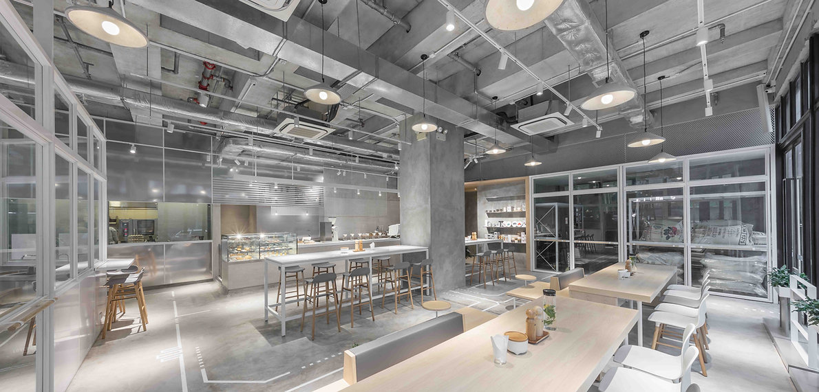 NOC Coffee Interior Design Studio Adjective 咖啡室內設計