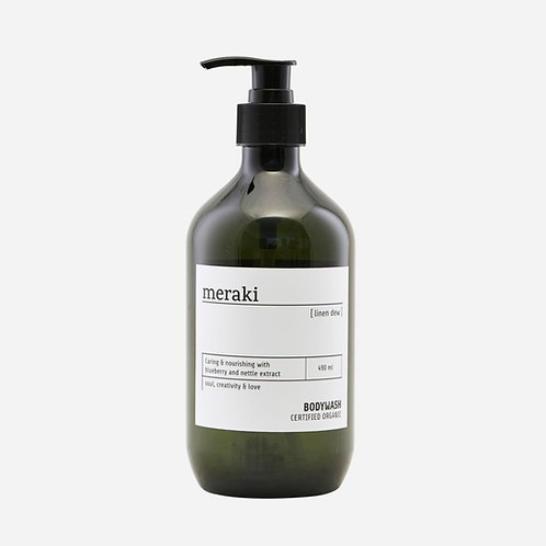 Meraki - 廣藿薄荷  Linen Dew Organic Body Wash | 丹麥有機身體沐浴乳  (490ml)