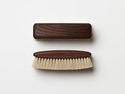 TGC035 Light Shoe Brush  - 淡色系鞋靴馬毛刷