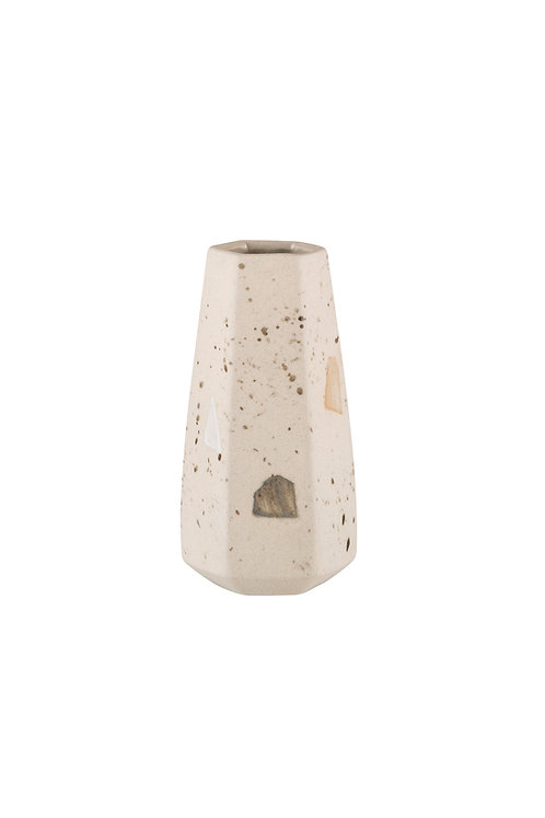 Zakkia Carved Vase Straight - Confetti