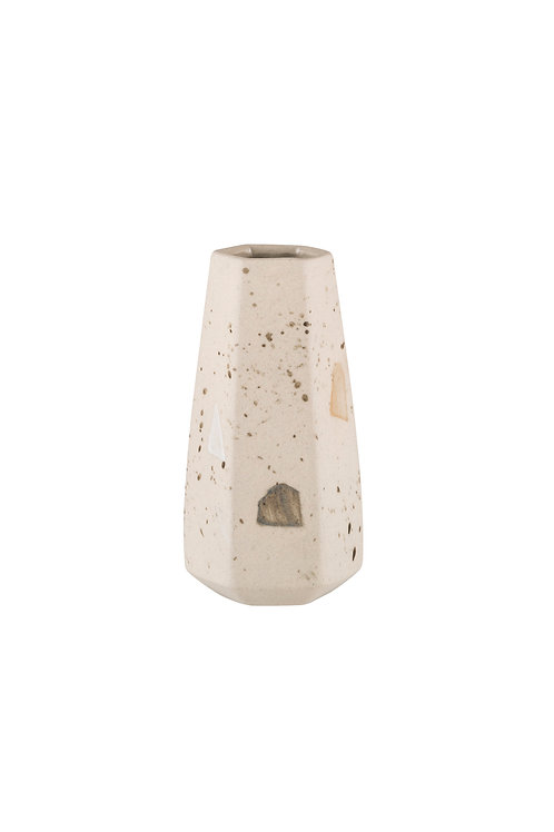 Zakkia Carved Vase Straight - Confetti