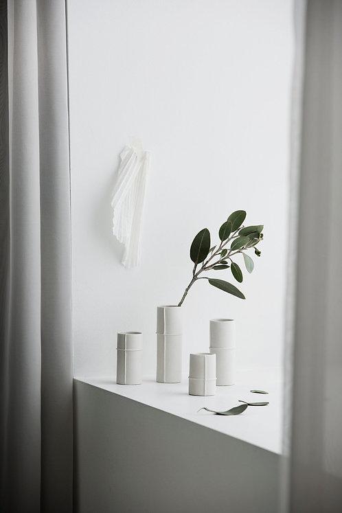 Zakkia - Bud Vase (White) - Set of 4