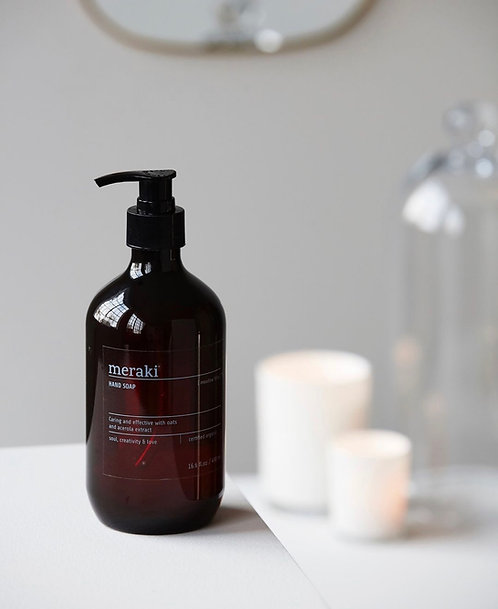Meraki - 燕麥櫻桃 Meadow Bliss Organic Hand Soap | 丹麥有機洗手液 (490ml)