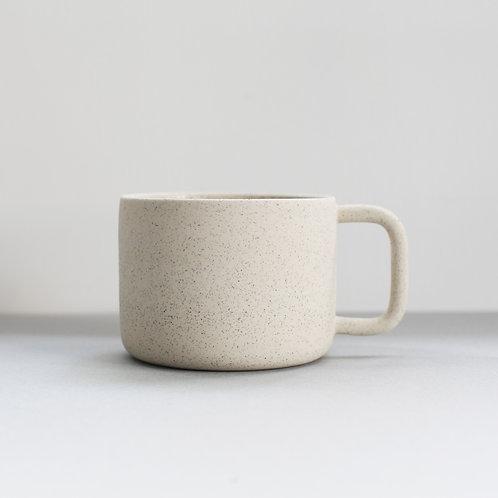 Ghostwares - white speckle mug