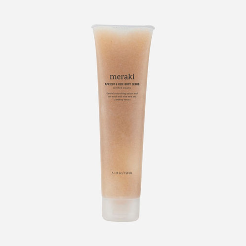 Meraki -  杏子稻米有機身體去角質露 | APRICOT & RICE Organic Body Scrub  (150ml)