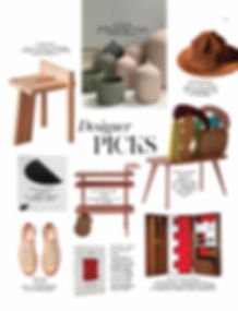 Vogue Hong Kong Studio Adjectie Objectiv Hong Kong Interior Designer Hong Kong Designer Picks Living Maestro Stories in Design FELT Direct, Kinfolk, Tripodal Stool, Issey Miyake Pleats Hat