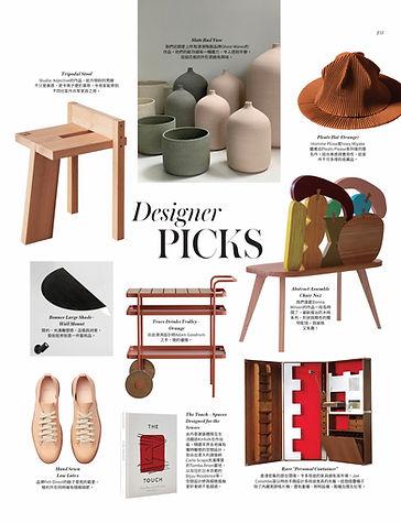 Vogue Hong Kong Studio Adjectie Objectiv Hong Kong Interior Designer Hong Kong Designer Picks Living Maestro Stories in Design FELT Direct, Kinfolk, Tripodal Stool, Issey Miyake Pleats Hat