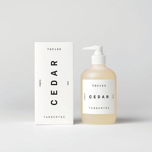 TGC108 - 雪松木 CEDAR Organic Soap  |瑞典頂級潔膚有機洗手沐浴乳