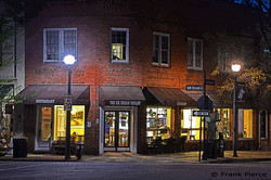 Ice Cream Parlor after Dark