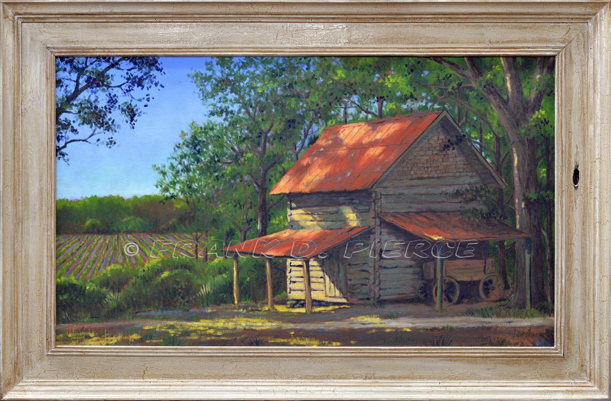 The Log Tobacco Barn