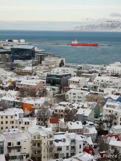 The Harbor at Reykjavik