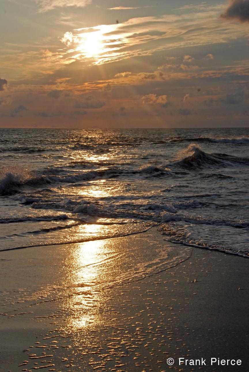 Sunset, Frying Pan Shoals