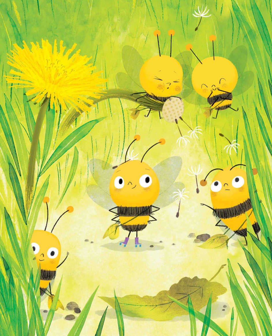Bees sample page