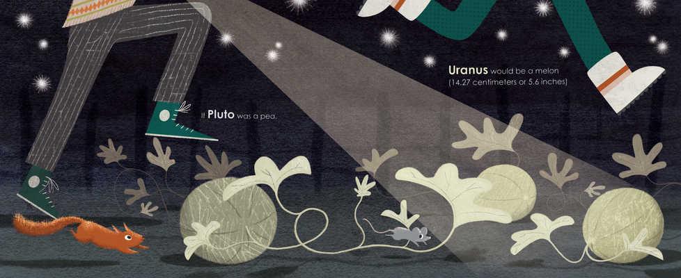 If Pluto Was a Pea spread