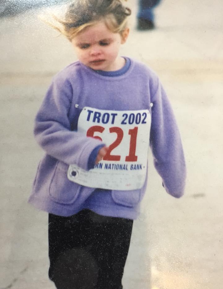Caitlin Kids Mile 2002