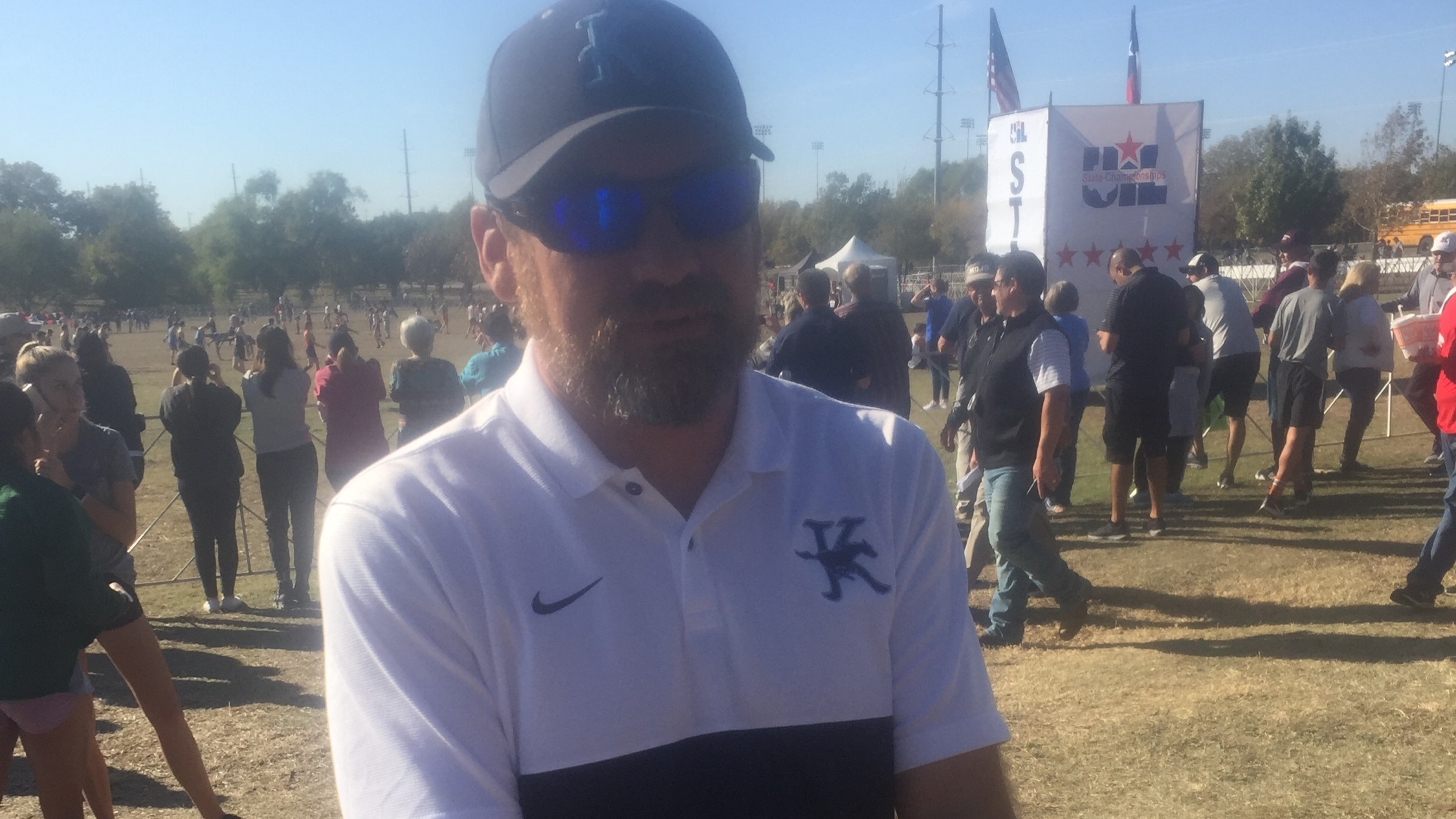 Kingwood Girls XC Head Coach Jeremy Dye