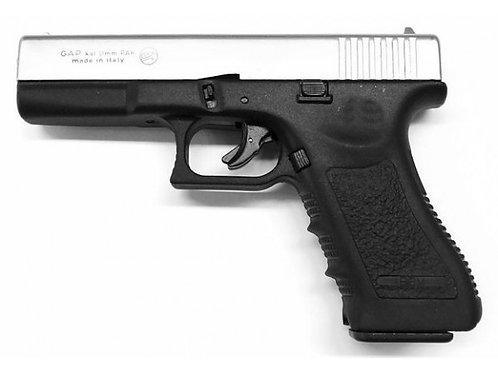 Pistolet Glock 17 Chromé. 9mm