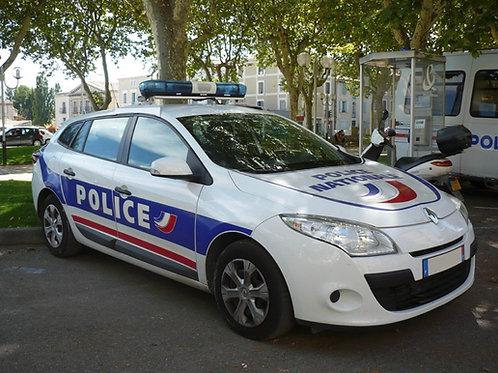 Voiture Police : Megane 3 Break