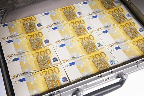 Mallette 35 Liasses : Billets 200€ [150]