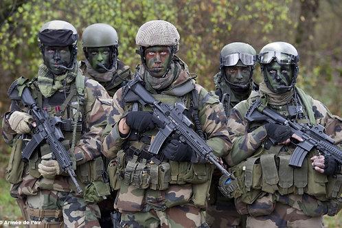 Pack 5 Tenues : Commando Forêt