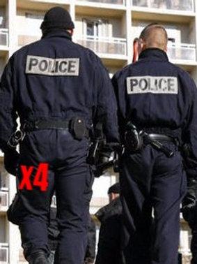 Pack 4 Costumes Police V3 [500]